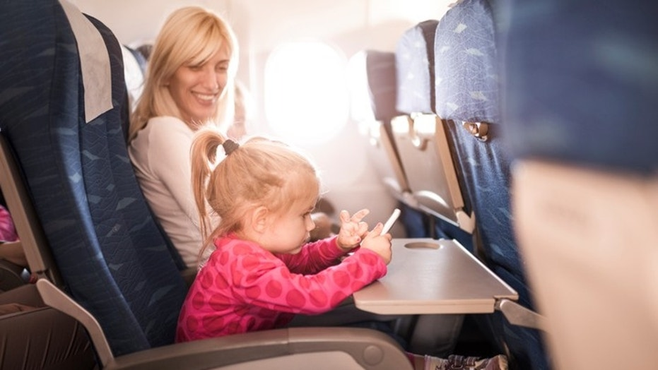 Remember these items when flying with small kids.