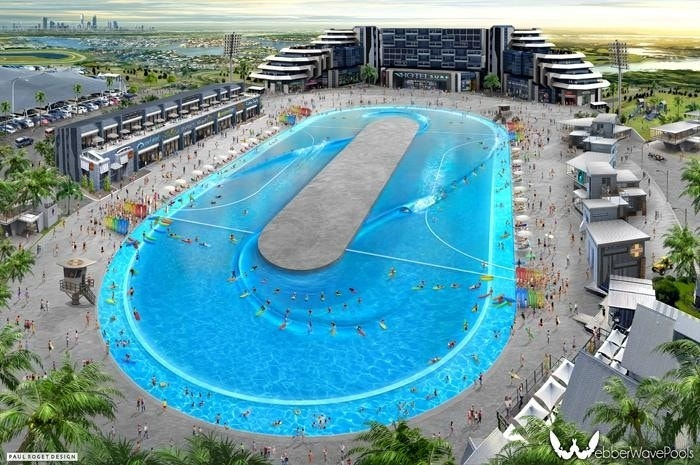Best water park wave pools around the world fox news - The best swimming pools in the world ...