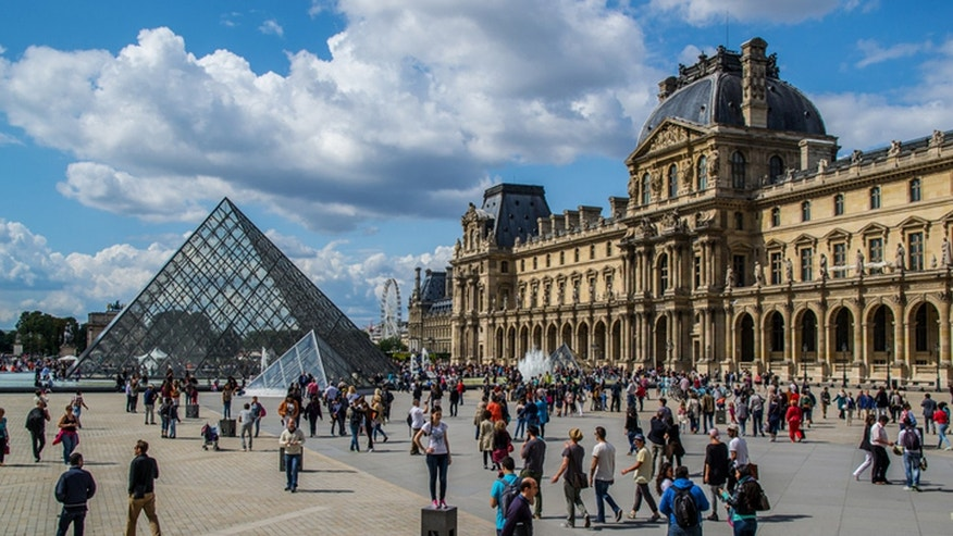 The Louvre is the world's largest-- and likely most crowded-- museum. But it's well worth the trip.