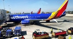 A Southwest Airlines plane is seen at Los Angeles International Airport (LAX) in the Greater Los Angeles Area, California, U.S., April 10, 2017. Picture taken April 10, 2017. REUTERS/Lucy Nicholson - RTX3553L