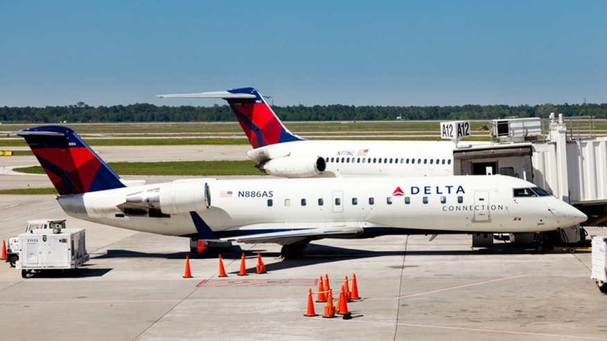 A Delta Air Lines flight attendant has been accused of smacking a cell phone out of a 12-year-old boy's hands.