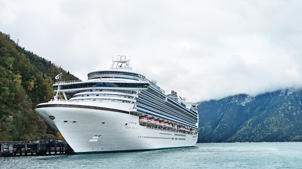 Ruby Princess In Alaska