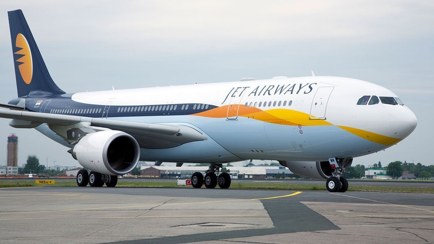 Jet Airways celebrated their first in-flight delivery on Sunday.