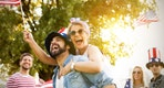 fourth of july revelers, istock