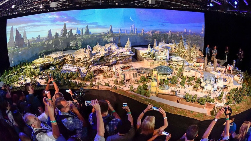 Disney chairman Bob Chapek announced details of the new Star Wars: Galaxy's Edge attraction, among other additions.
