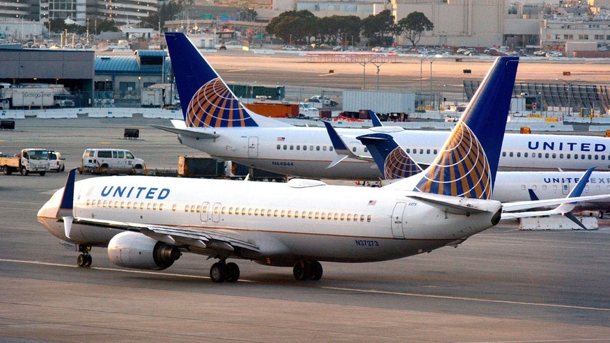 A United crew was forced to monitor a drone near its flight path.
