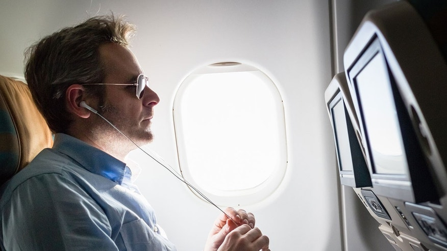 41 Percent Of Men Admit To Crying During In-flight Movies