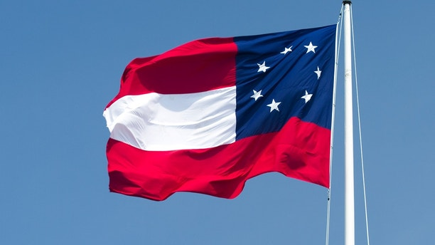 old confederate flag istock
