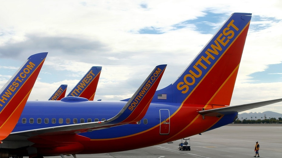 A couple allegedly partook in sexual activity aboard a Southwest flight to Las Vegas