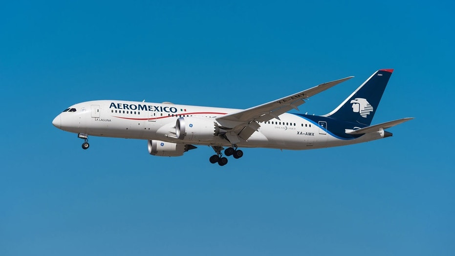 An Aeromexico passenger forced the plane to make an emergency landing 30 minutes into the flight.
