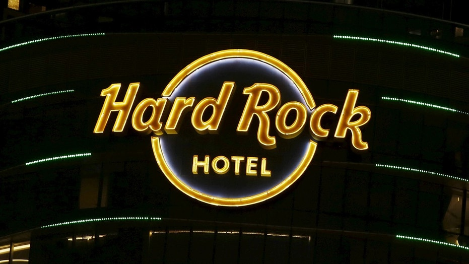 The estate of late photographer Brian Duffy is suing a West Coast location of the Hard Rock Hotel.