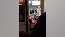 PIC FROM MERCURY PRESS (PICTURED: THE CAN OF STELLA LAGER NEXT TO THE PILOT OF THE JET2 FLIGHT) A holidaymaker was left stunned after he allegedly spotted a can of Stella placed on a napkin in the COCKPIT of a Jet2 flight home from Alicante - snapping a picture of it. Steve Lewis, from Brackley, Northamptonshire, says he spotted the lager can sat at the side of the pilot for 20 minutes after the plane had landed at Birmingham airport on Monday afternoon while they waited to disembark.  Upon sending the image to Jet2, Steve claims he was at first told it was not one of Jet2s flights - despite the iconic branding being clearly visible in the top left corner.SEE MERCURY COPY