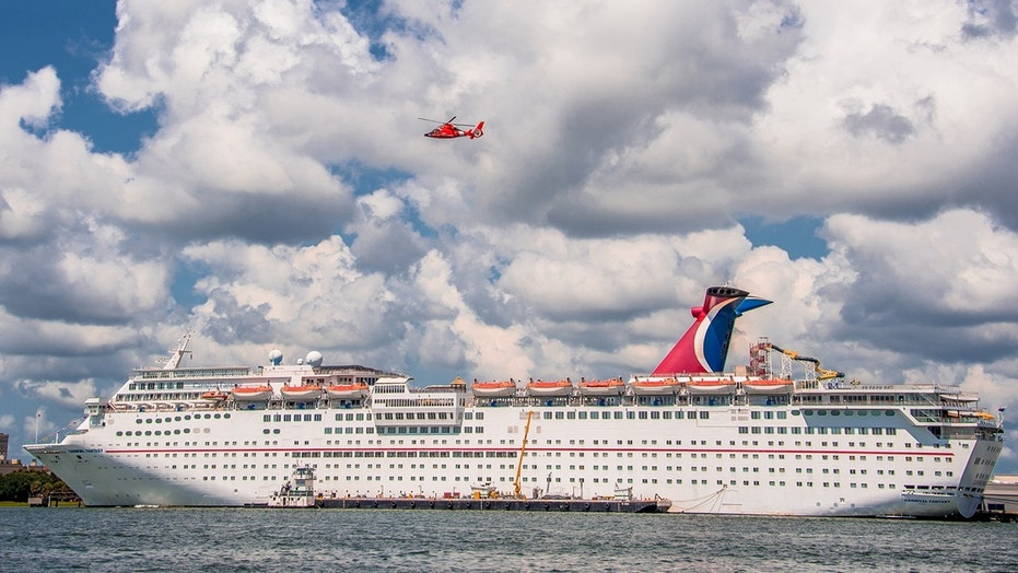 The Carnival Fantasy cruise ship is stranded at sea and it is unknown when it will be able to port.