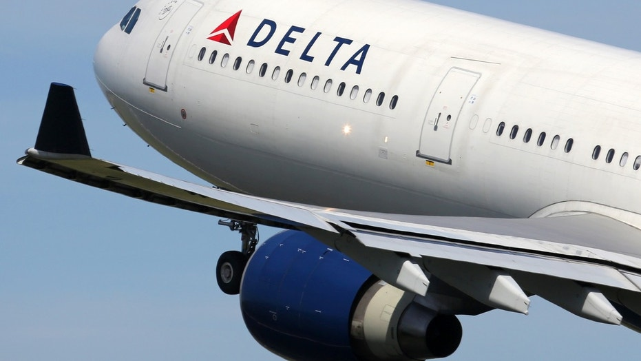 A Delta aircraft was diverted to an airport in Canada after experiencing engine trouble.
