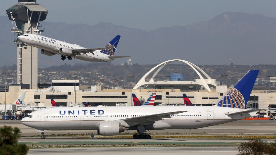 A united Airlines from from Munich make an emergency landing in Boston Sunday