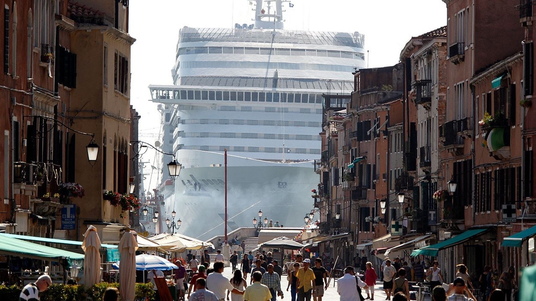 Venice Says Cruise Ships No Longer Welcome in City Center