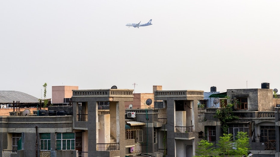 Residents near the Delhi Airport claim they get rained on by human poop from passing airplanes