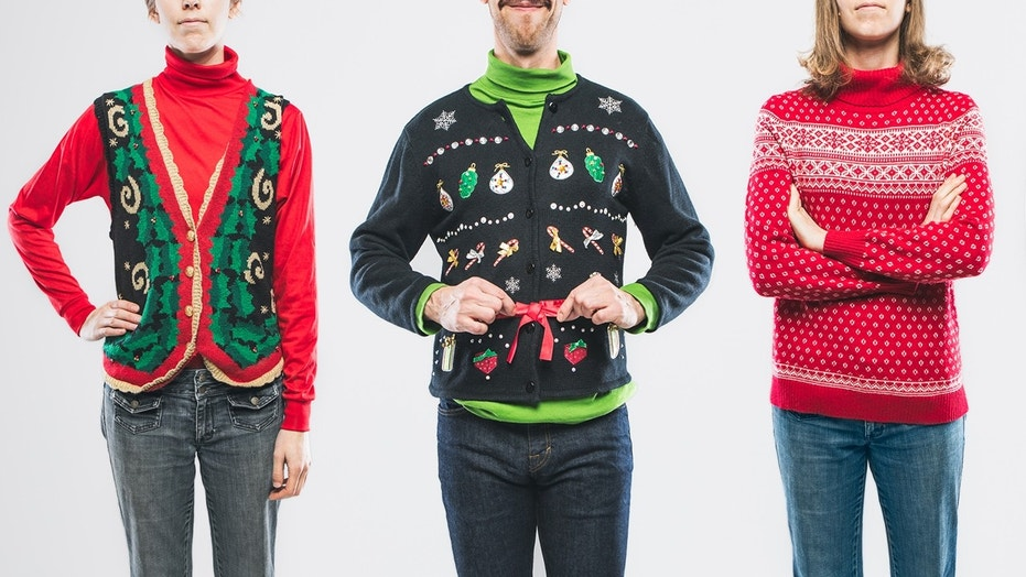 Alaska Airlines offers early boarding for passengers in 'ugly' Christmas sweaters