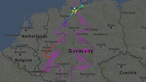 Christmas Tree FlightRadar24