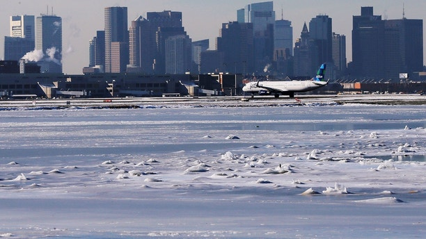 airport reuters snow