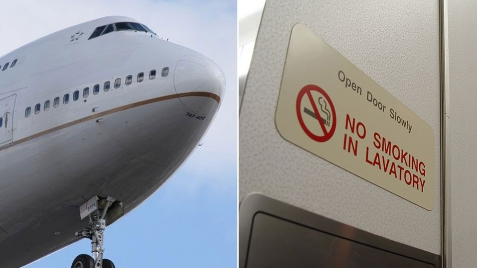 Plane diverted after passenger 'smears human faeces over toilet walls'