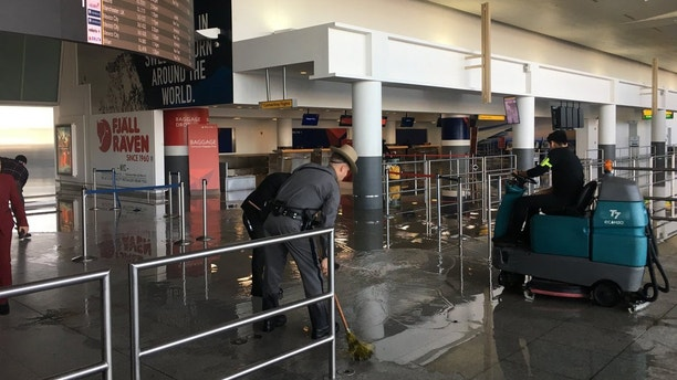 Flooding At JFK Airport Causes Flight Delay Havoc