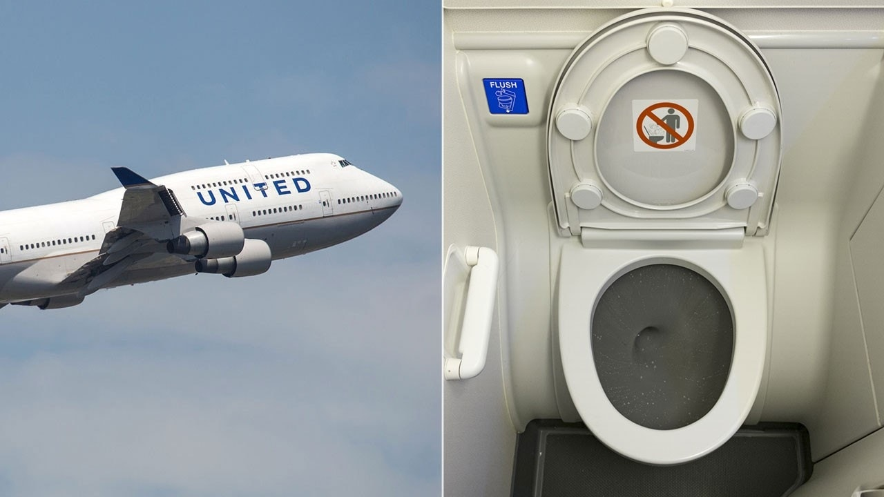 United Airlines flight diverted after 'toilets reach capacity'