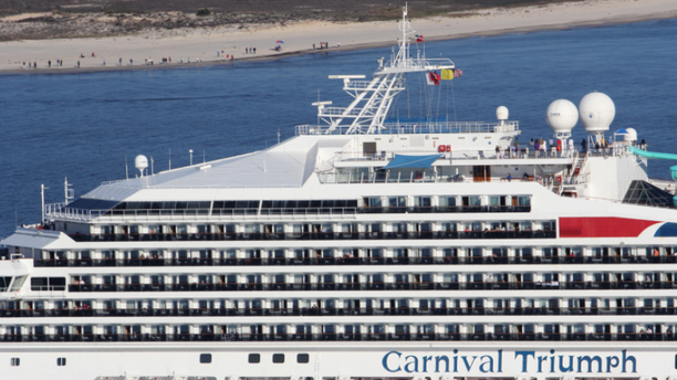 Woman missing after falling from cruise ship in New Orleans