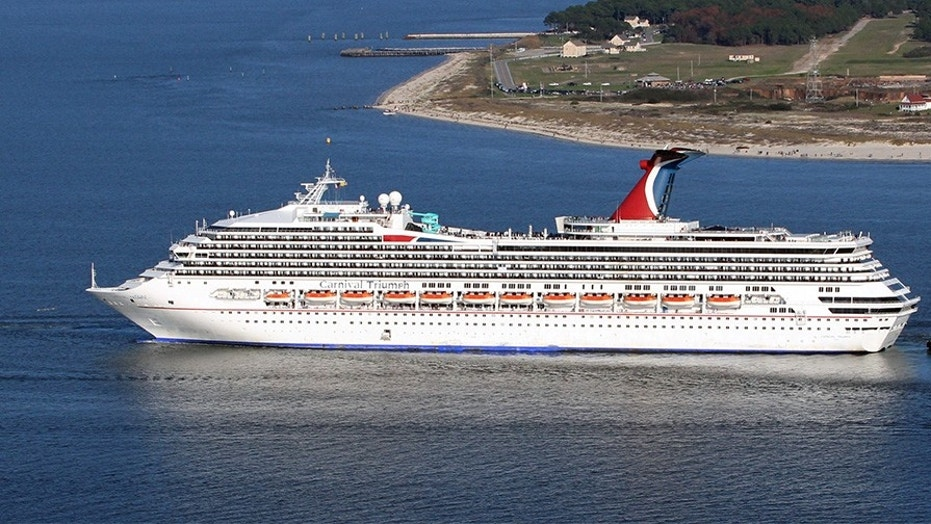 Woman missing after falling from Carnival cruise ship into Gulf of Mexico