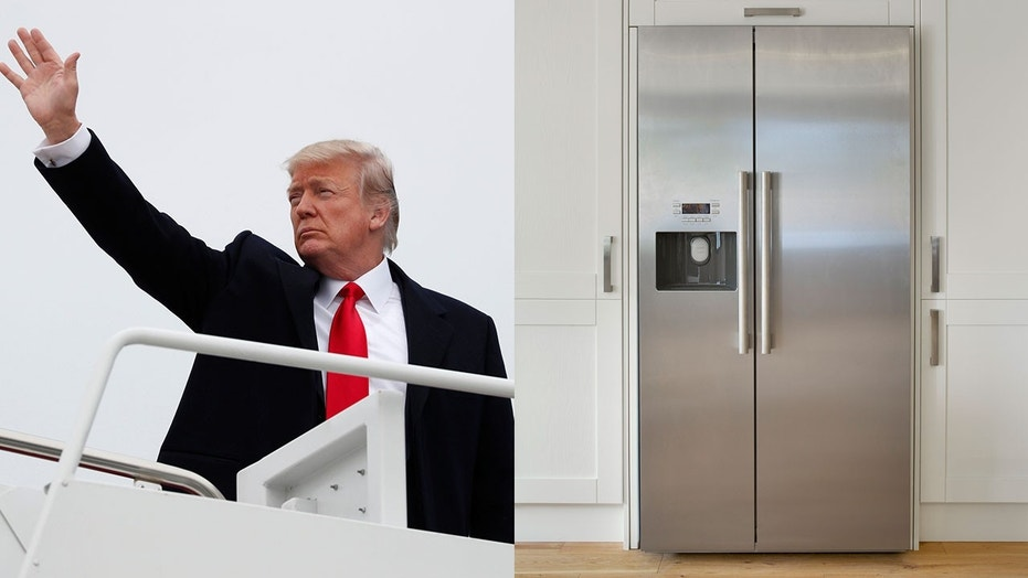 A cool $24m to install two new fridges on Air Force One