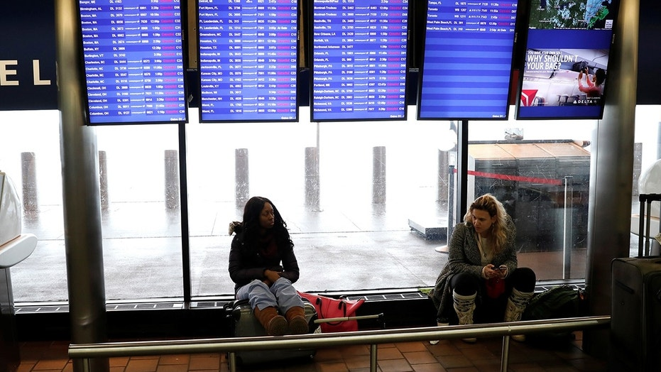 Winter storms have grounded flights at New York's LaGuardia Airport more than once since the beginning of 2018.