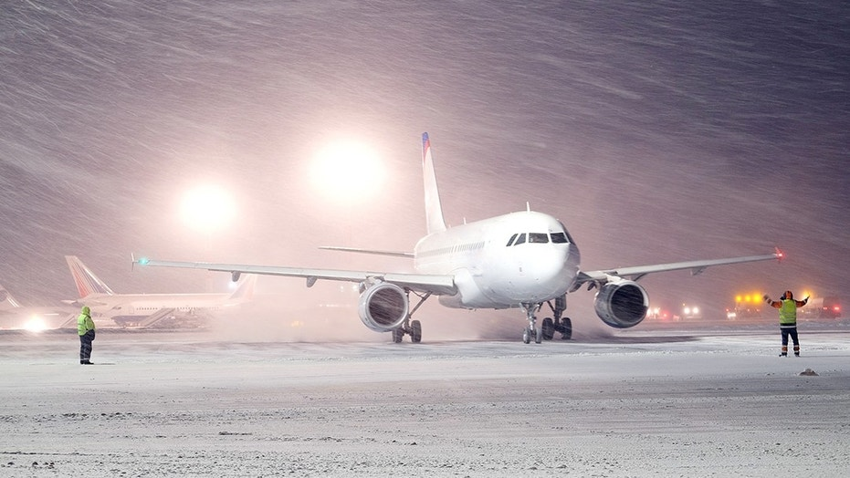 Winter Storm Riley has caused thousands of flight cancellations.
