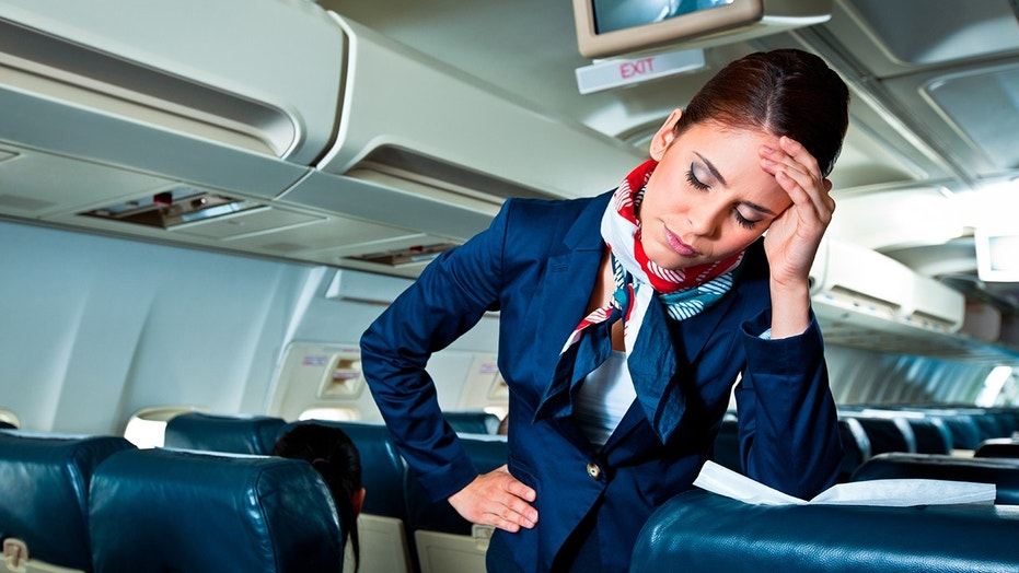 A Majority Of Cabin Crew Have Witnessed Passengers Behaving Aggressively Or  Violently, According To A