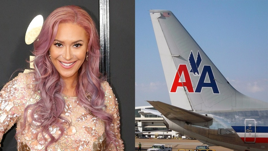 Former Pussycat Dolls performer Kaya Jones goes on Twitter rant about American Airlines