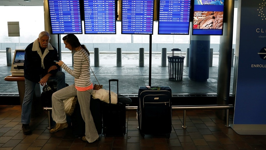 """New York's LaGuardia Airport said it expects all airlines to """"cancel all flights"""" by Wednesday afternoon."""