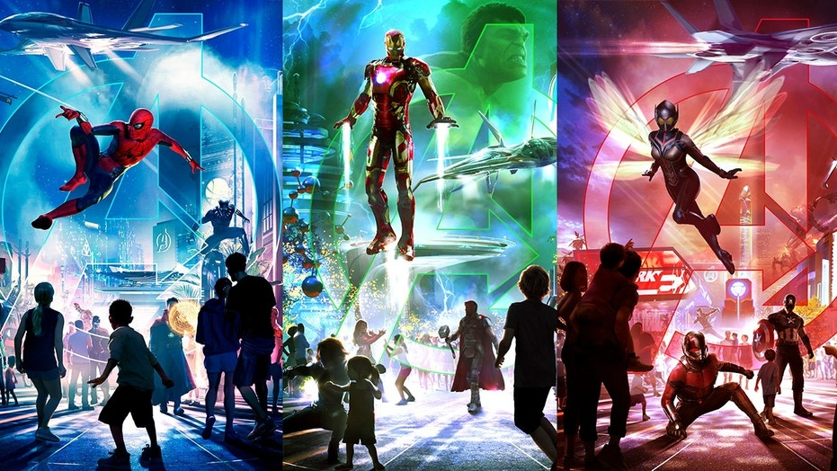 Three Disney parks are getting a Marvel makeover with new super-hero attractions by 2020