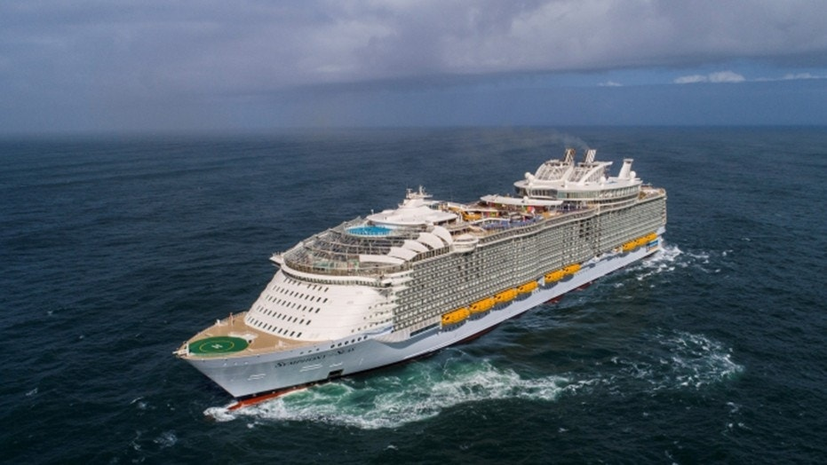 Royal Caribbean's Symphony of the Seas has set sail today as the largest cruise ship in the world.