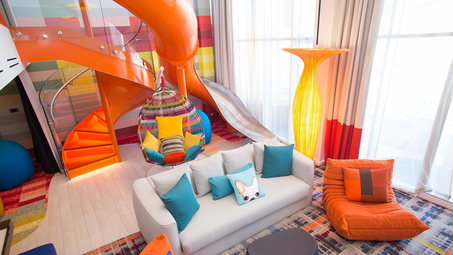 The Ships Ultimate Family Suite Takes Up Two Levels And Features Everything From A Whirlpool To