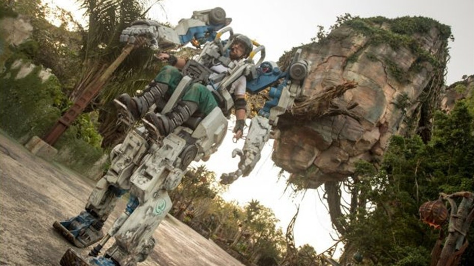 Disney World will soon debut an Avatar-inspired utility suit at Animal Kingdom.