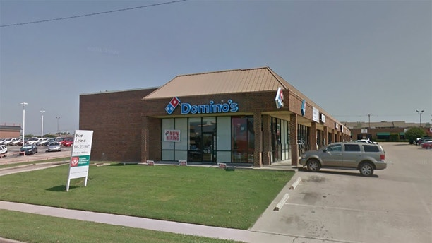 domino's fort worth street view