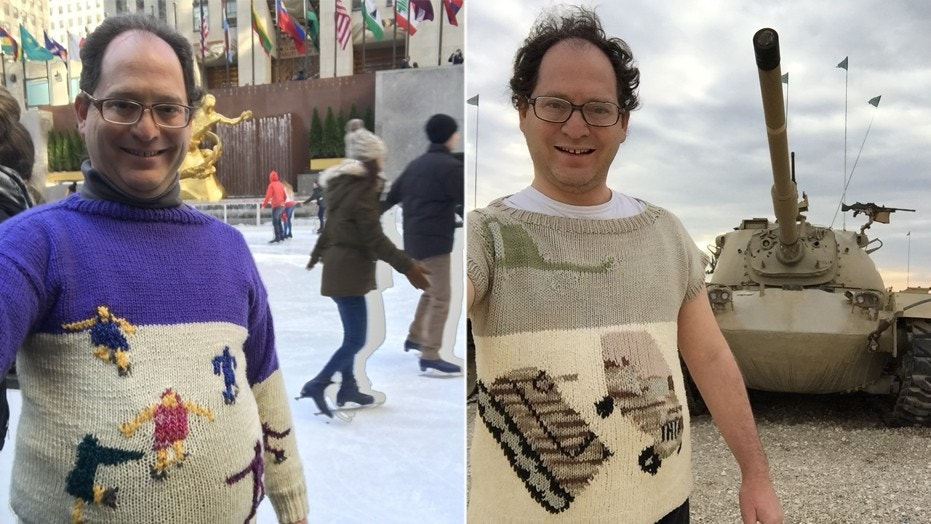Samuel Barsky's unique sweaters have earned him a massive online following of fans who can't get enough.