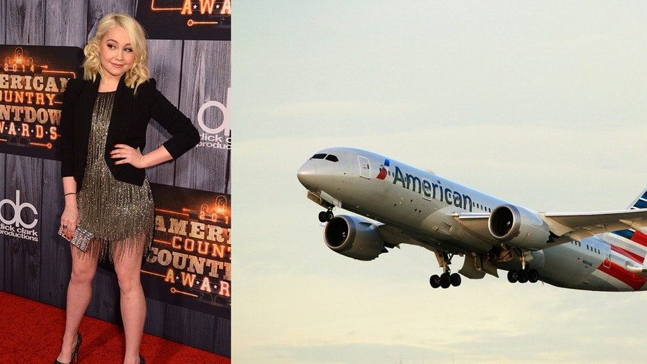 RaeLynn claimed that she was repeatedly harassed by an American Airlines stewardess for flying with her 85-pound service dog.