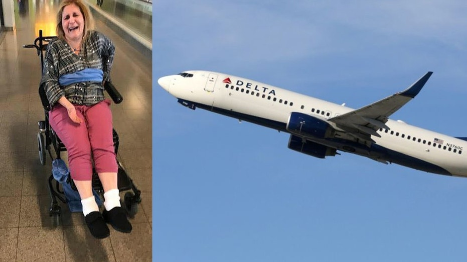 Delta Passenger Tied to Wheelchair With Blanket, Airline Apologizes
