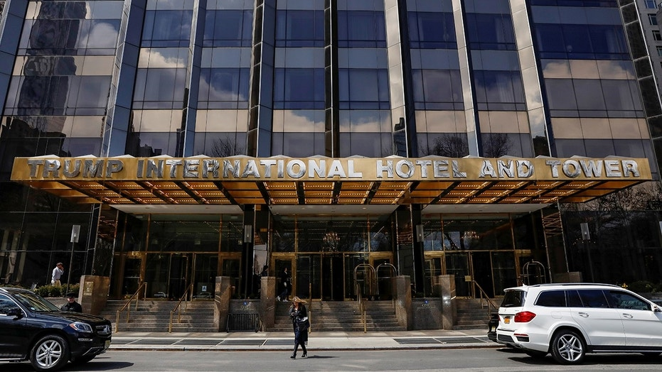 Matthew Pilling, 30, broke into the basement of the Trump International Hotel around midnight and was booted by hotel security when he was found roaming the halls.