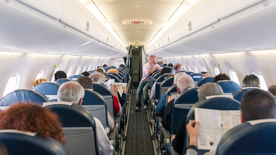 Ninety percent of survey respondents said that going barefoot on a plane is definitely not cool.