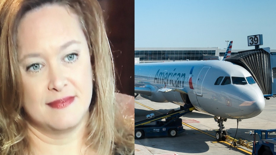 An attorney from New Hampshire claims an American Airlines rep sent her a nasty, vulgar text message after she accidentally left a garment bag on a plane.