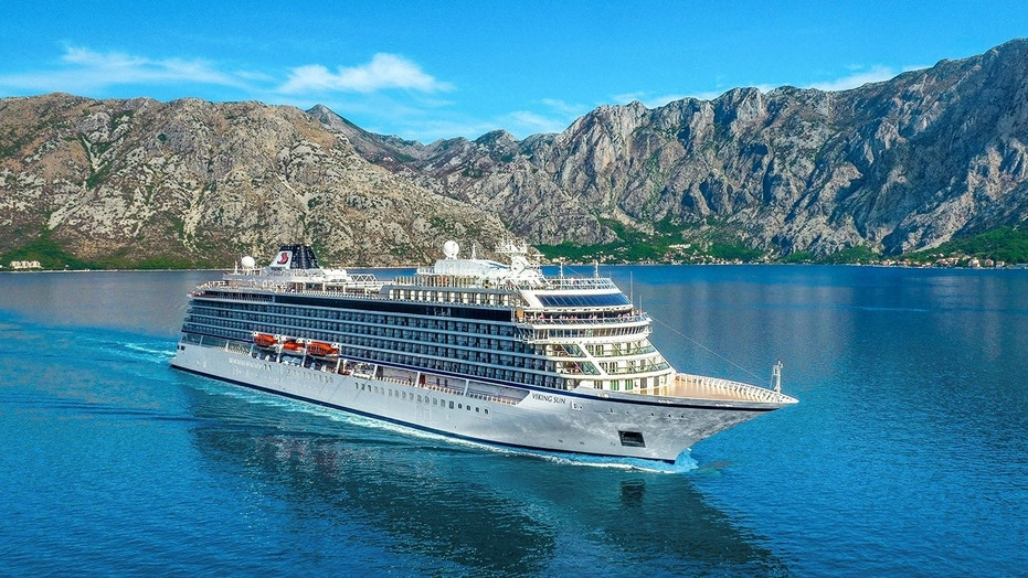 The eight-month world cruise on the Viking Sun departs from London August 31, 2019.
