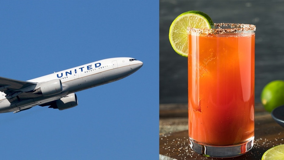 United Airlines to keep tomato juice on in-flight menu after Twitter backlash