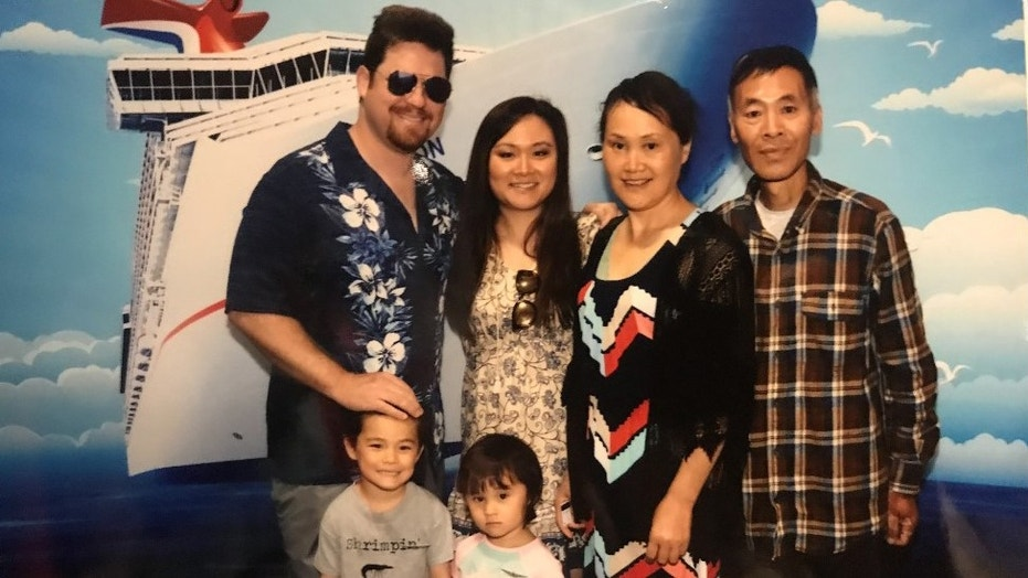 Joseph and Zhengjia McDevitt had invited her mother and terminally ill father on a cruise, so they could spend quality time with their grandchildren.