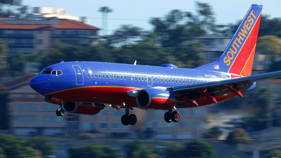 A Southwest flight had to make an emergency landing in California after a passenger reportedly lit a joint in the bathroom.